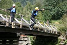 Abenteuer beim Rafting in Kärnten